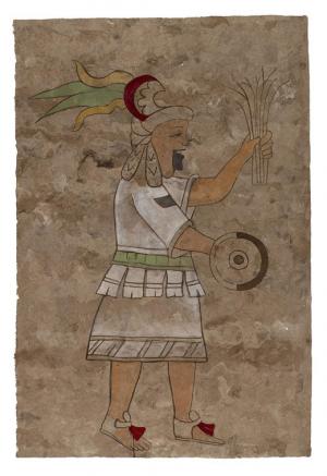 Sandy Rodriguez, Tenten In na, Nahua diosa de dioses, 2019