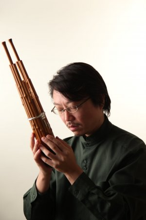 Maestro Naoyuki Manabe with his Sho