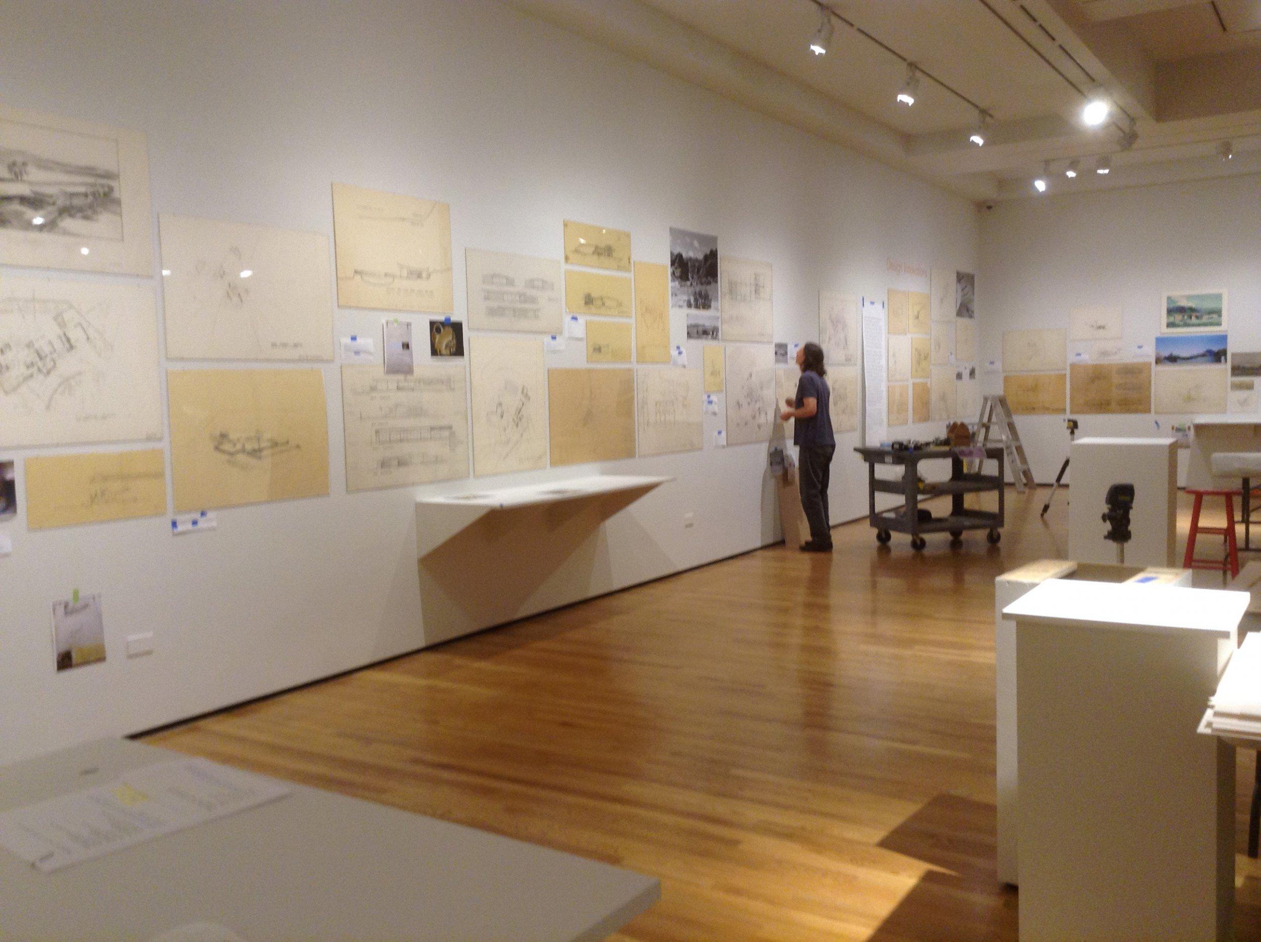 D Exhibition Designer Job In : An insider look at exhibition design art museum uc