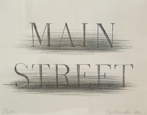 Lithograph, Gift of Eileen and Peter Norton, 2000.20