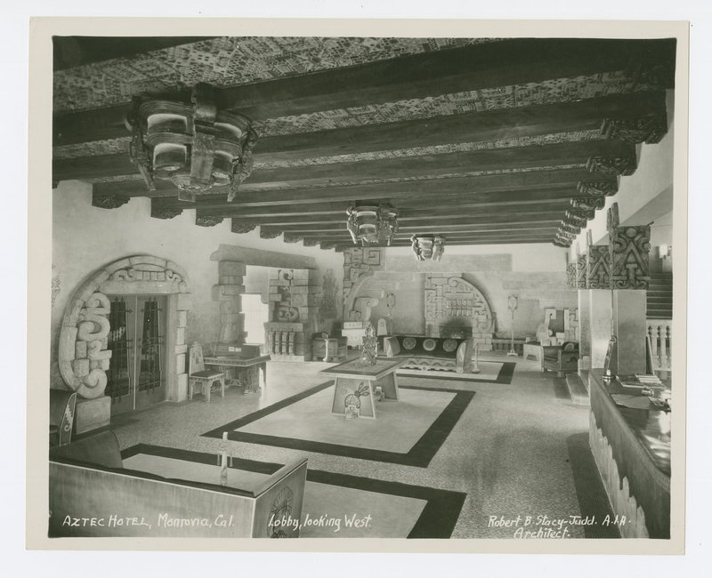 Robert Stacy-Judd, Aztec Hotel, Monrovia, Calif., 1924